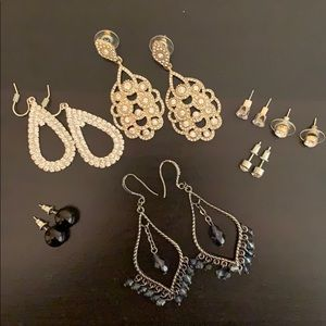 7 piece earring set